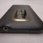 HTC Evo 3D rückseite von Oben